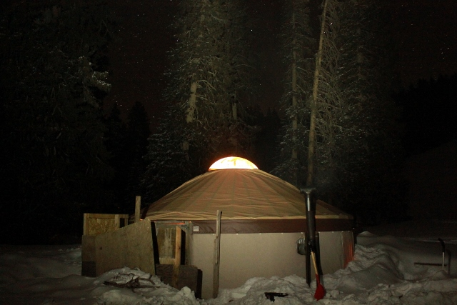 Snorkeling Elk Yurt