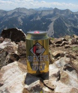 More deliciousness in a can, courtesy of Idaho. Sockeye's Galena Gold.