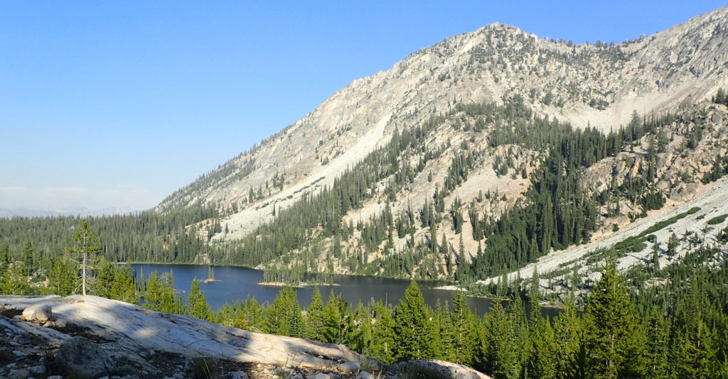 Farley Lake in the Sawtooth Wilderness