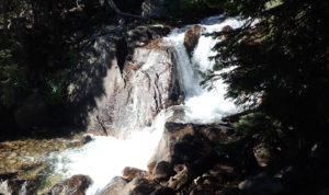 One of the waterfalls on the way to Farley Lake
